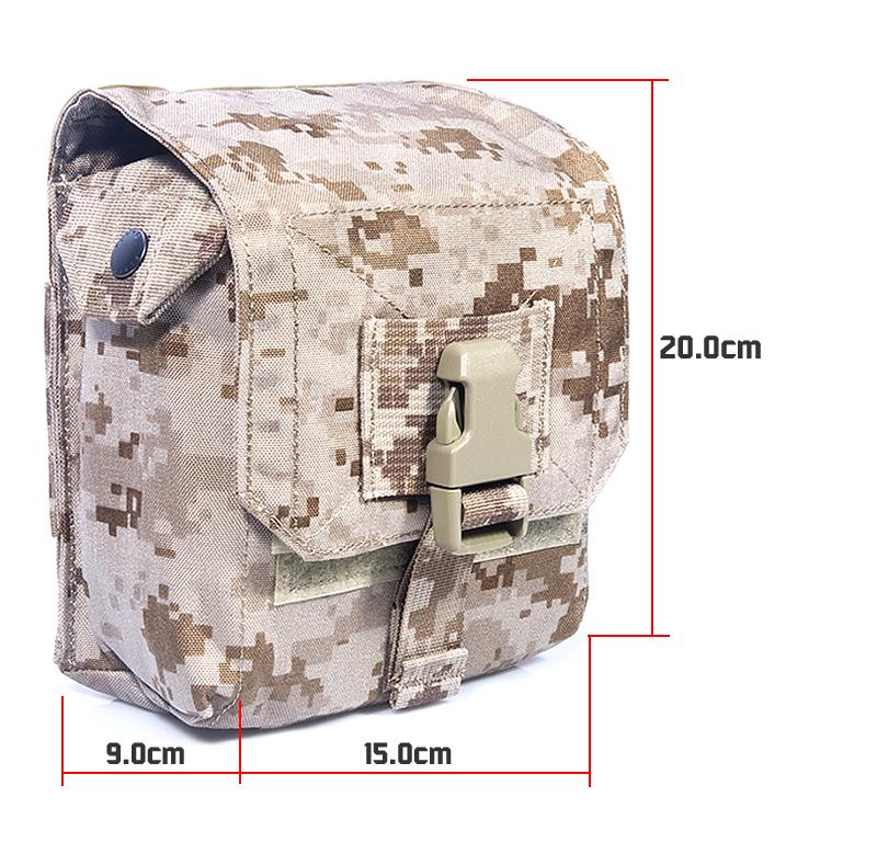Туристическая сумка Flyye M012 60# 15x20 Tactk Flyye