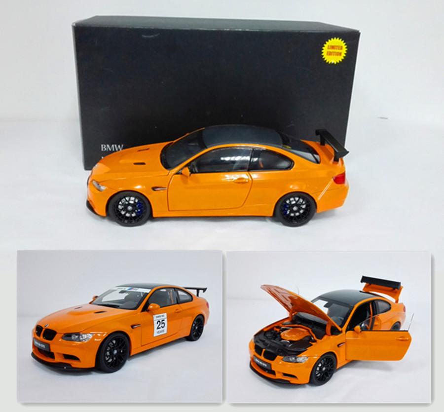 现货京商Kyosho 1:18宝马BMW M3 GTS双门轿跑合金汽车模型