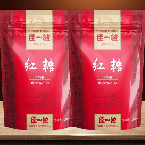 佳一粒甘蔗红糖袋装月子产妇泡红糖水批发正宗手工土红糖老红糖粉