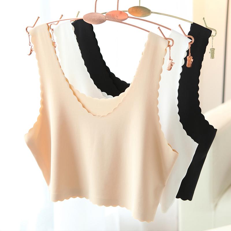 【2件装】女吊带裹胸防走光打底背心内衣-优惠后20元包邮