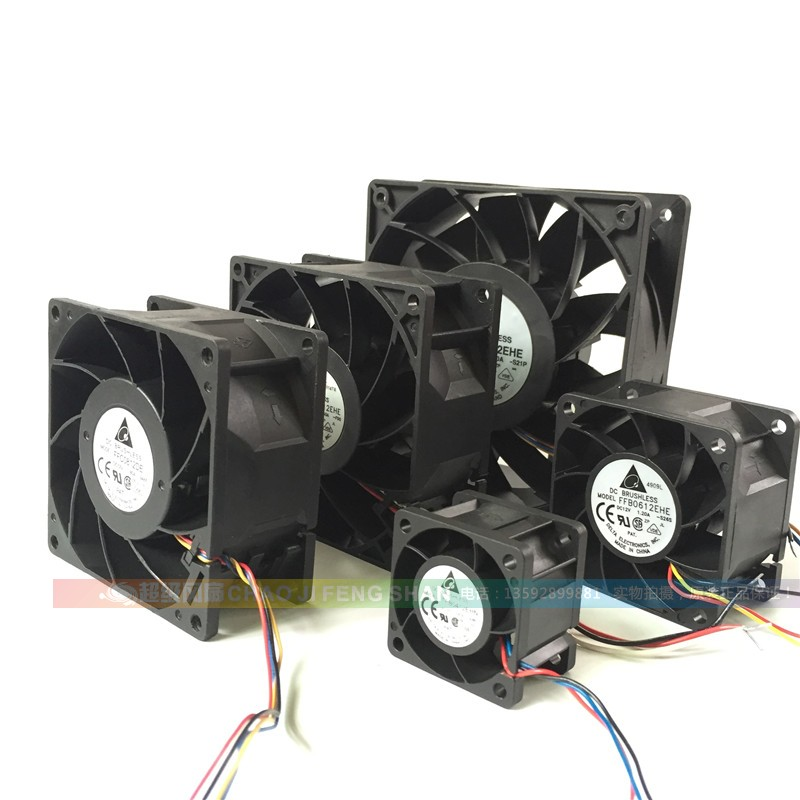 468912cm/cm12V High Speed High Speed Turbocharger Server Cabinet Violence Cooling  Fan