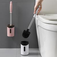 卫生间创意免打孔挂墙式厕所刷子套装