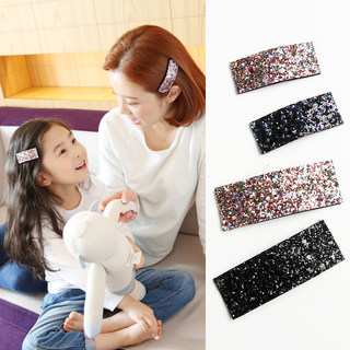 Parents and children's hair accessories Korean versatile clip baby cute BB clip bangs hairpin girl hair clip clip