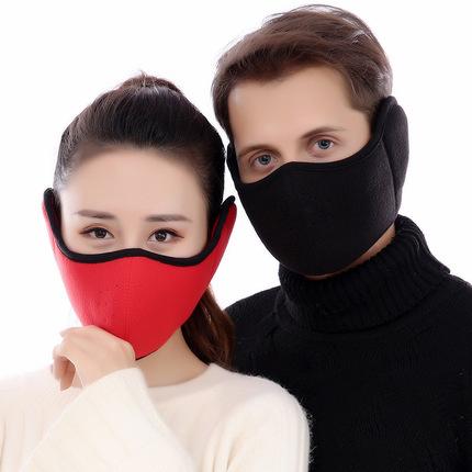 防尘保暖防寒口罩男女耳罩耳套护耳立体全包骑行加厚冬季新款保暖