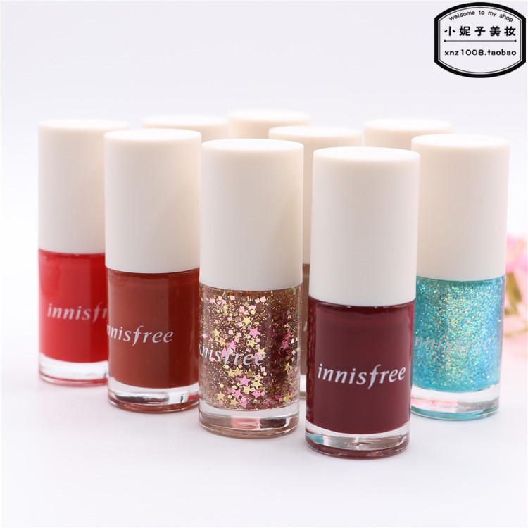 USD 12.99] Authentic Korean innisfree eco-friendly Four Seasons nail ...
