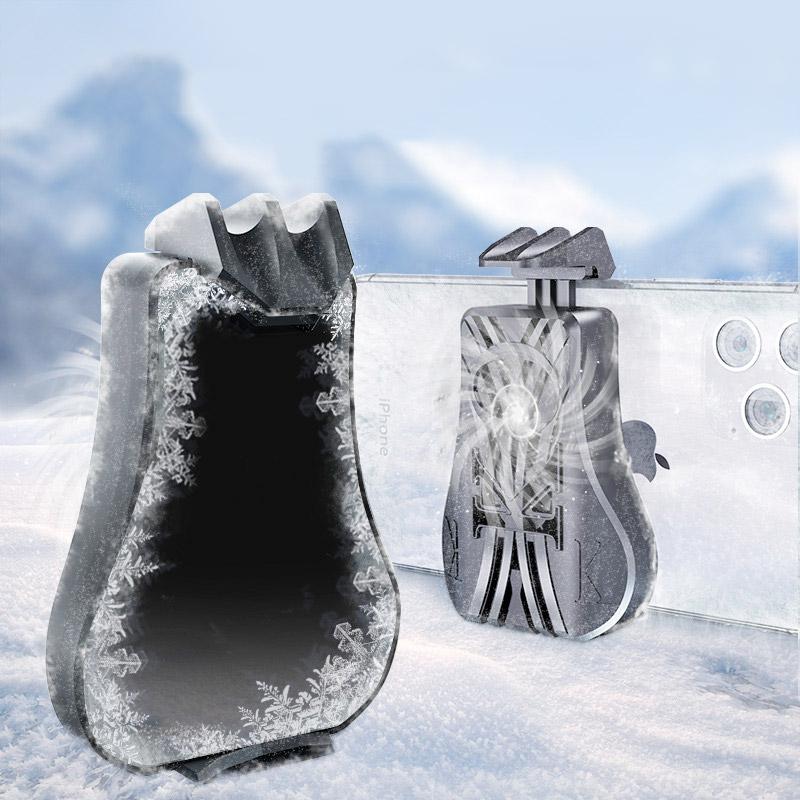 手機散熱器冰封降溫神器半導體制冷蘋果Xpro主播直播同款iPhone11