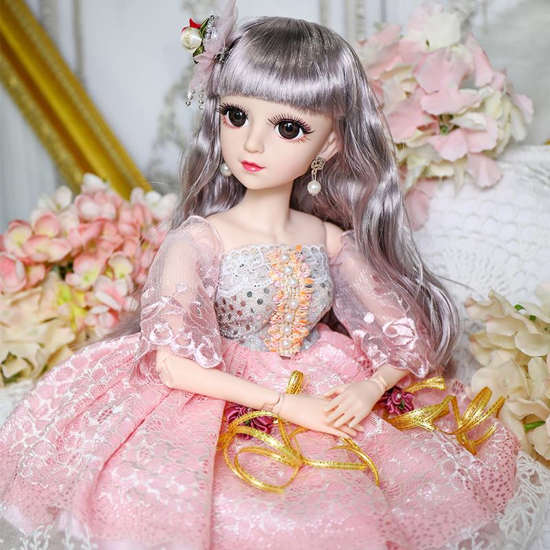 【豪华礼盒】60CM芭比洋娃娃