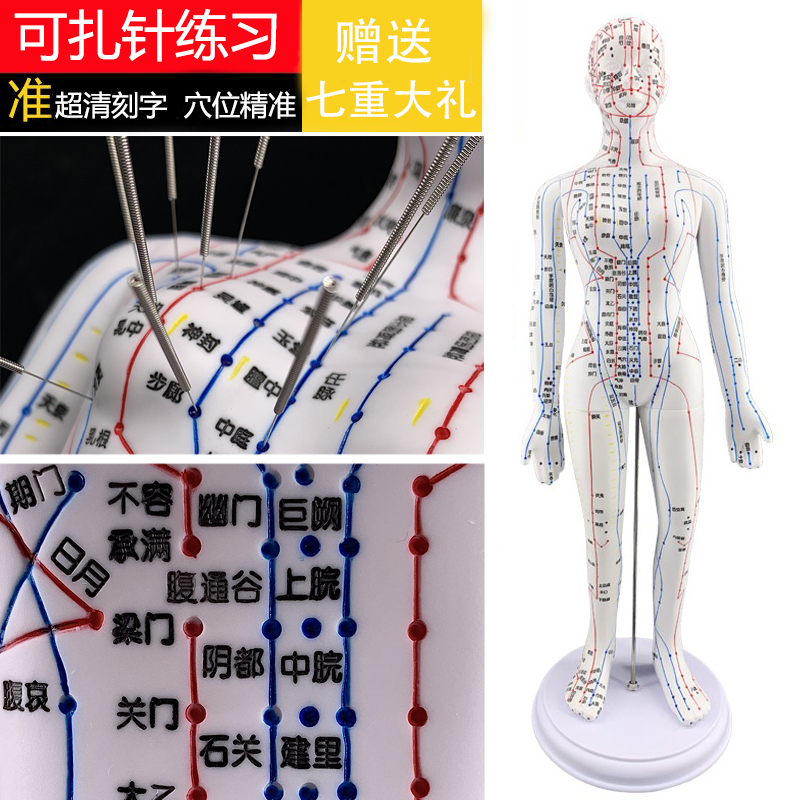 White Women's Soft Mold (removable) Ultra Clear 50cm Large Characters Can Be Pinned