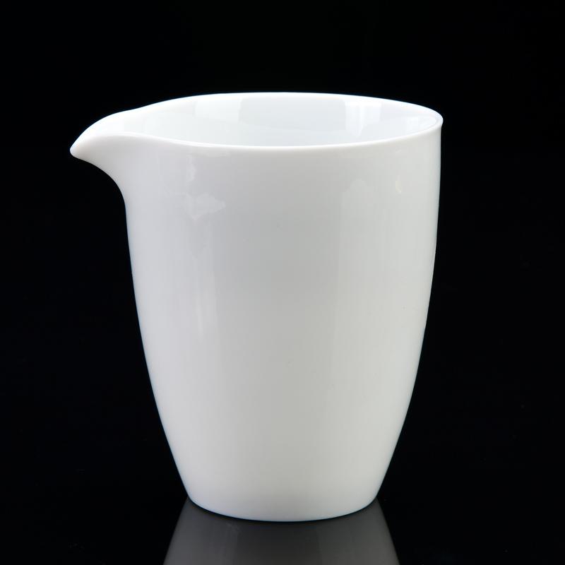 功夫配件a功夫杯茶具茶具茶海公杯LOGO仿古手抓定制分茶器手工陶瓷