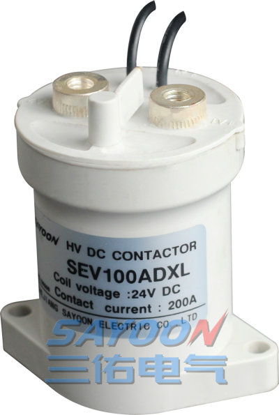 Electric vehicle charging pile high voltage DC contactor SEV30A SEV50A  SEV100A SEV200A