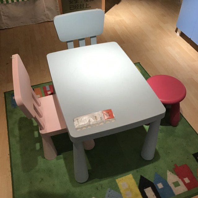 Table And Chair Set Plastic