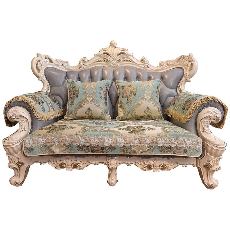 欧式沙发垫套四季通用布艺奢华高档防滑真皮沙发套罩客厅坐垫定做_天猫超市优惠券