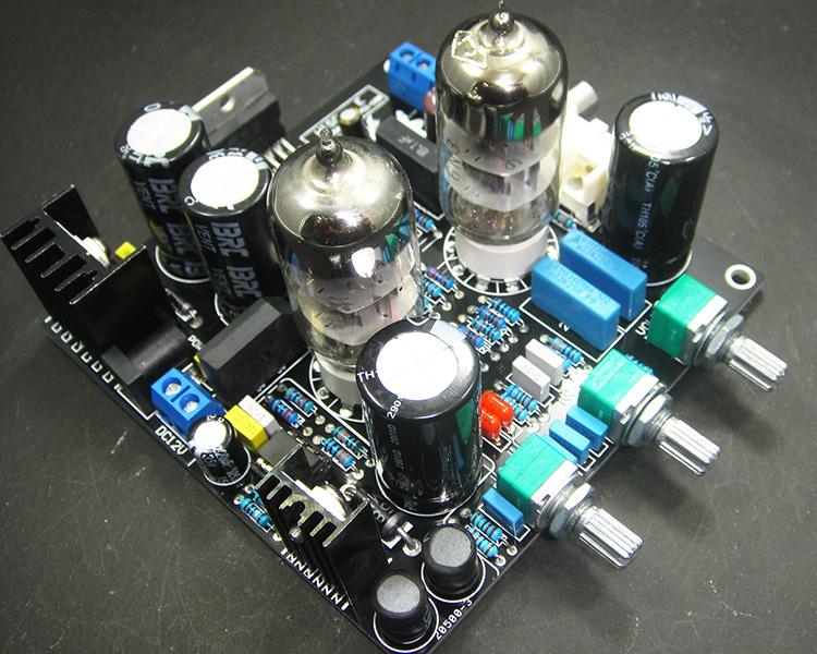 6N3 толчок TDA7379 gallstone смешанный продукт 12V DC усилитель автомобильного усилителя ламповый усилитель