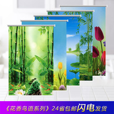 Roller blinds lift shading bathroom toilet kitchen pull curtain shade bedroom free punch waterproof bathroom