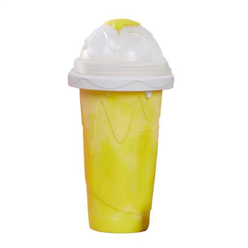 沙冰杯一捏成自制冰沙杯手捏进口夏季快速爆抖音儿童解暑同款美国