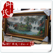 Xiangxiu handmade embroidery finished living room decorative hanging painting