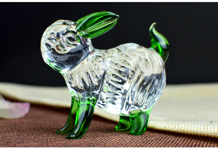 水晶彩色生肖-狗