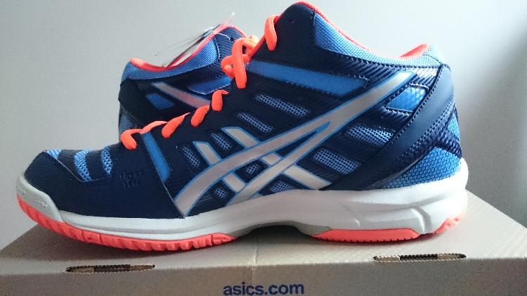 ASICS GEL beyond 4 MT medium European women's professional volleyball shoes blue orange