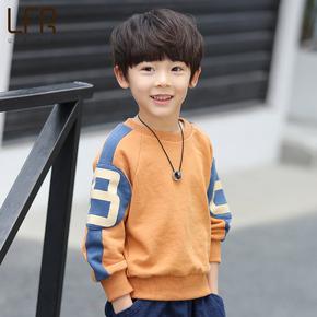 韩版春秋男童卫衣打底衫