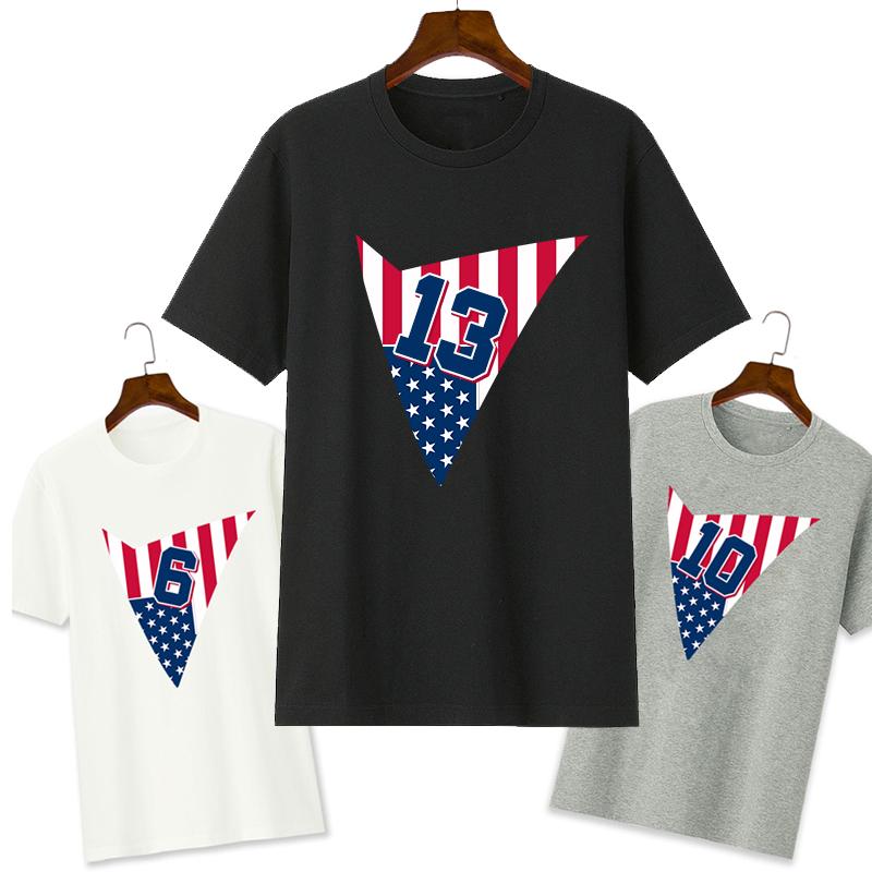 高乔耐克斯特科比詹姆斯库里哈登美国队短袖T恤篮球梦之队个性半