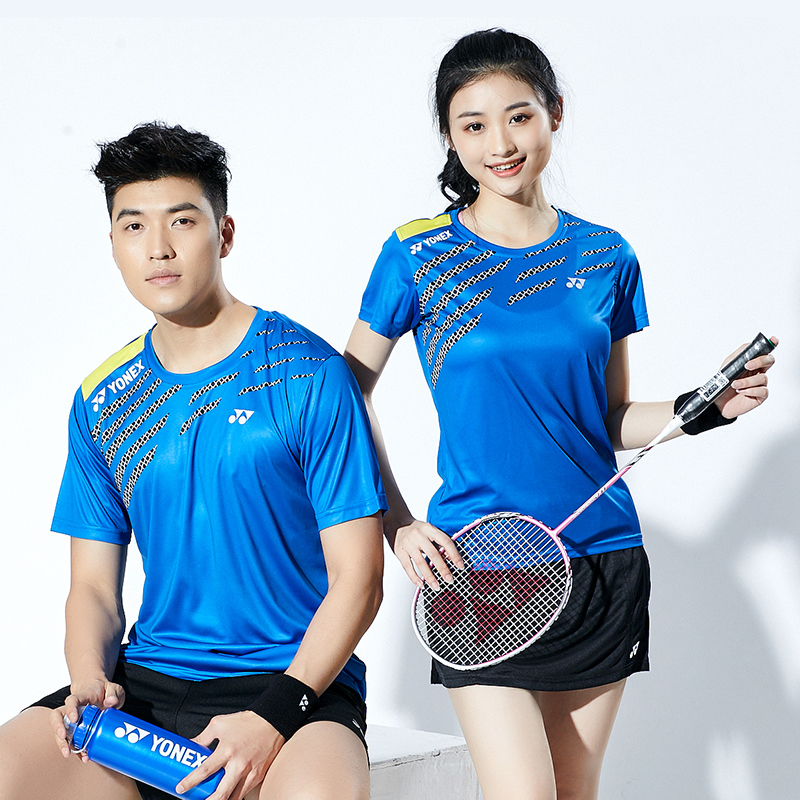eaf9e4bbf 2019 new products Yonex badminton wear men and women short-sleeved couple  shirt T-shirt YY quick-drying clothes spring and summer