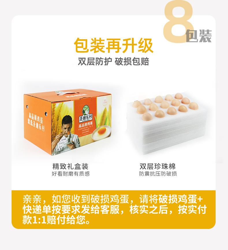 国宴峰会蛋品供应商 圣迪乐村 可生食无菌鸡蛋 20枚 图15
