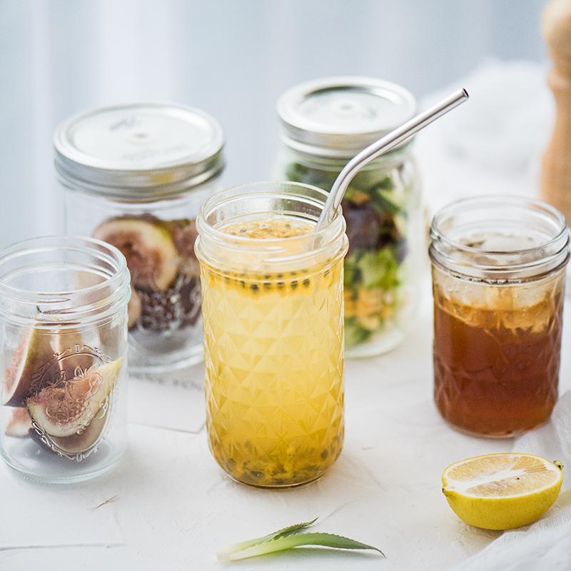 Хорошо поле вещь коллекция Ball слива лес бутылки с крышка стекло печать банка с каплей чашки молочный коктейль фруктовый сок напитки чашка