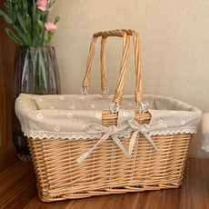 Willow storage baske...