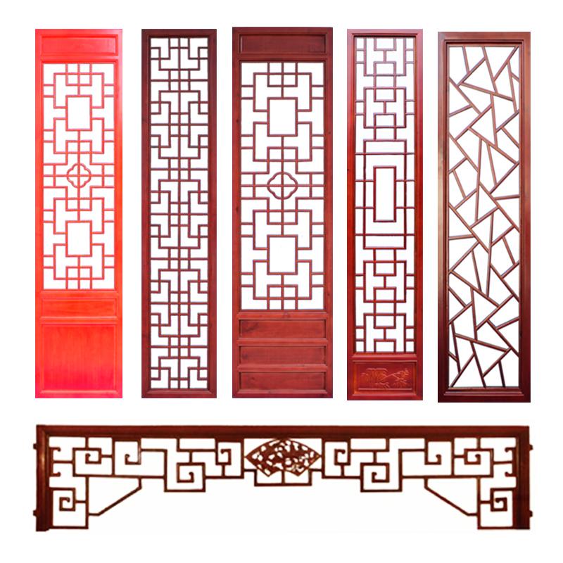 Dongyang деревянные резные твердые деревянные цветы перегородки Сюаньгуань экран китайского типа полый телевизор фоновая стена висит потолок антикварные двери и окна