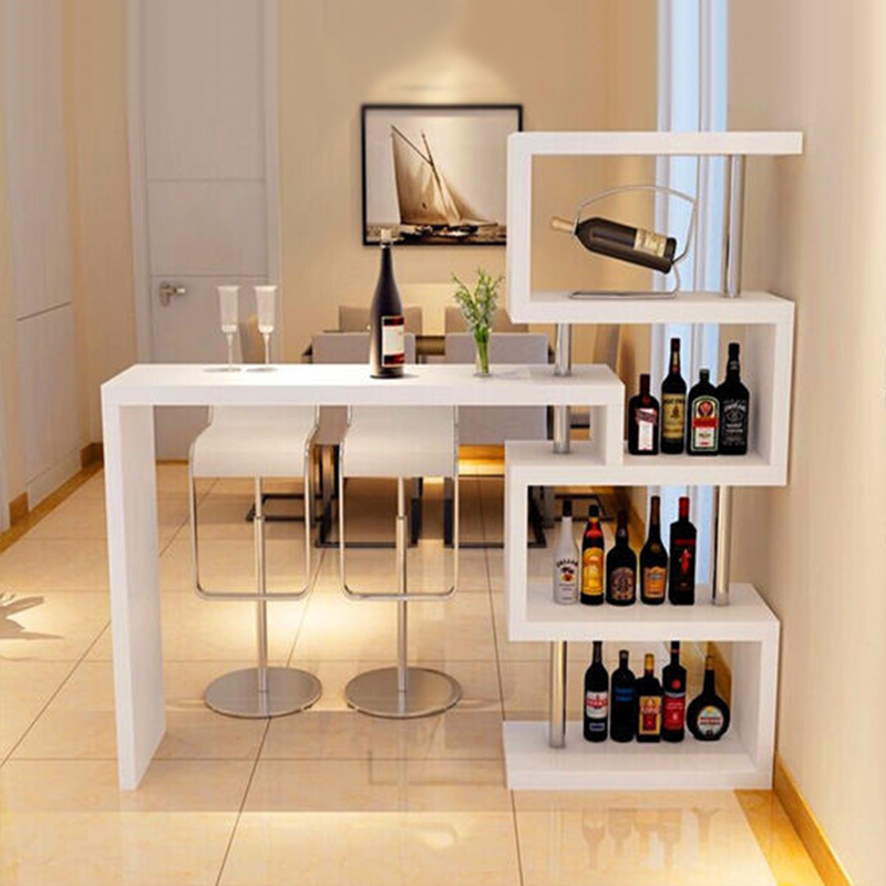 Factory Direct Family Living Room Corner Bar Table Rotating Wine Cabinet  Porch Partition Cabinet Modern Minimalist ...