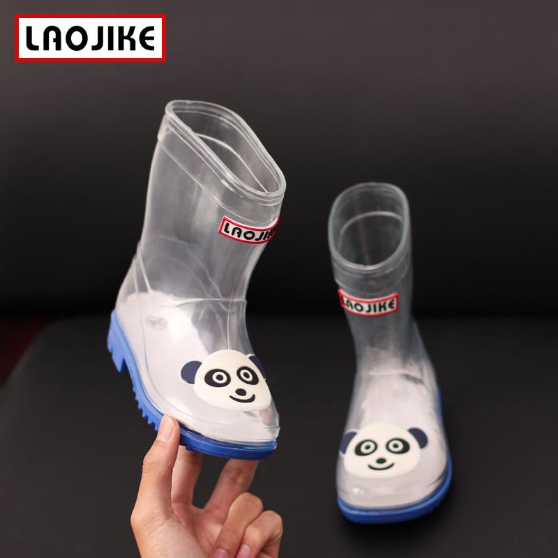 儿童雨鞋春夏款幼儿园男童女童防滑宝宝胶鞋雨靴时尚小孩水鞋中筒