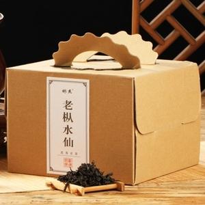武夷山岩茶乌龙茶装浓香老枞水仙茶叶送礼茶纸箱礼盒包480克