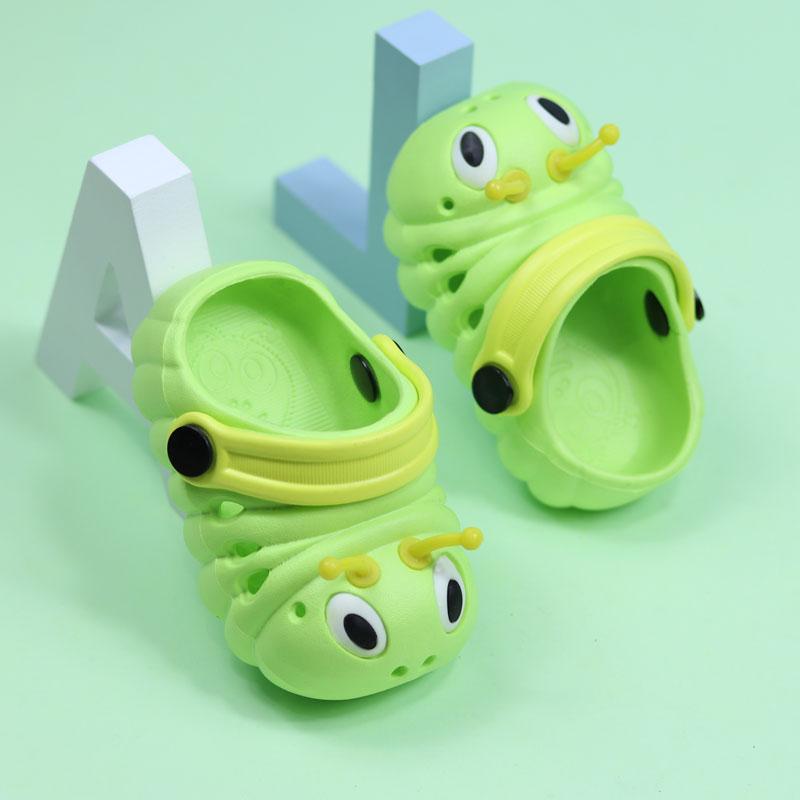 男童女童夏1-2-3岁洞洞鞋防滑拖鞋拖鞋公主可爱小童儿童凉宝宝