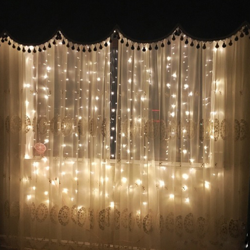 Led light string outdoor lights string lights neon stars indoor led light string outdoor lights string lights neon stars indoor curtains decorative lights string romantic bulbs aloadofball