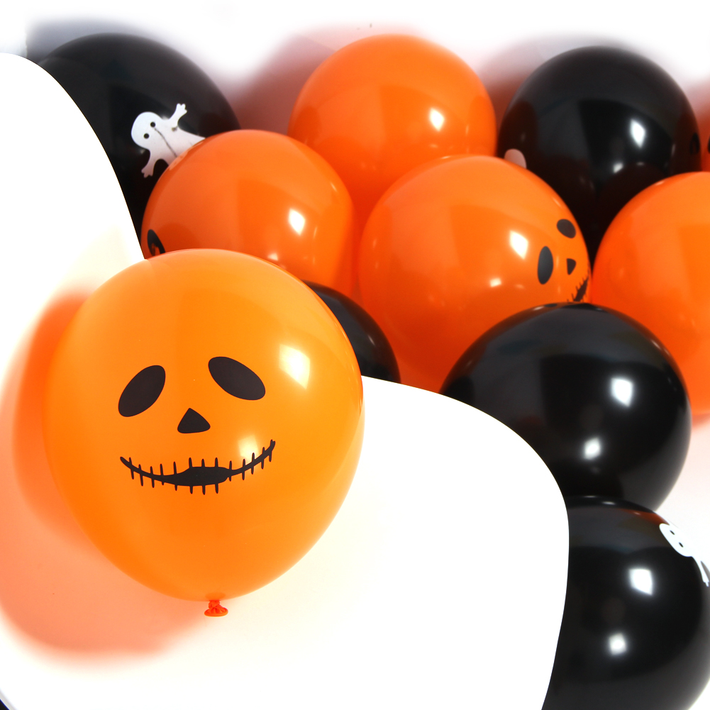 Usd 4 26 Halloween Balloon Decorations Ghost Festival