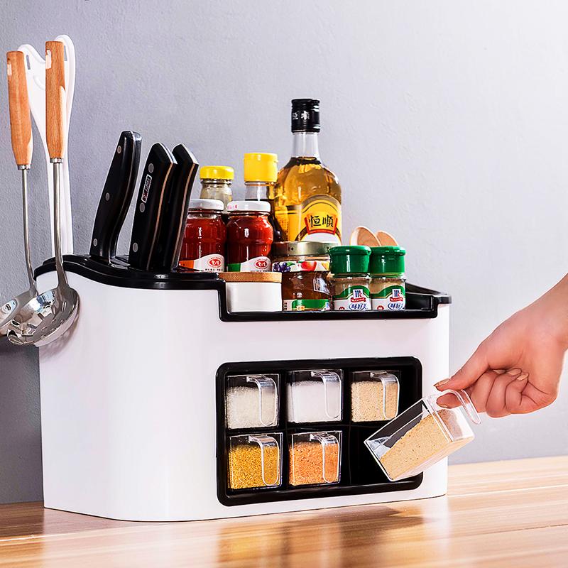 Кухонные стеллажи приправы для хранения приправы приправы полки для палочек для приправы органайзер