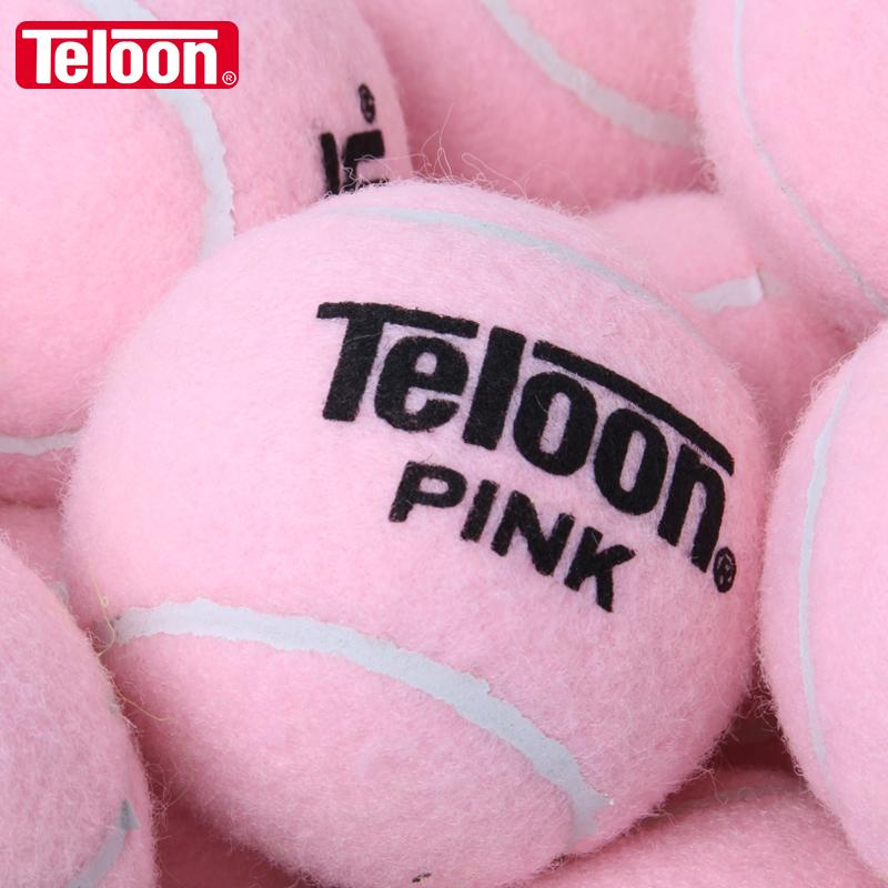 TELOON день дракона розовый сети мяч мисс начинающий обучение теннис пригодный для носки высокоэластичный подлинный PINK