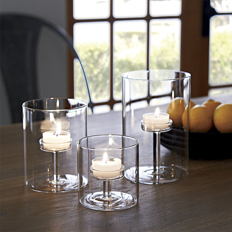 Candlestick Modern Simple Candlestick Model Props Wedding Bar - Restaurant candle holders for table