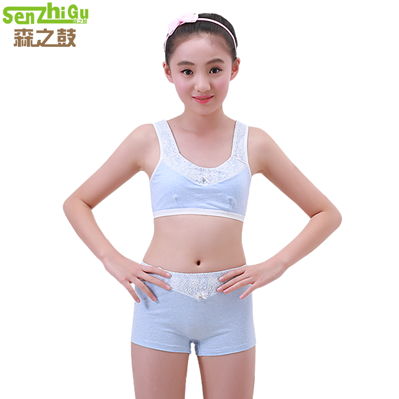 75f6cca1dddad ... Girls underwear tube top development period 9-12 years old girl small  vest in children
