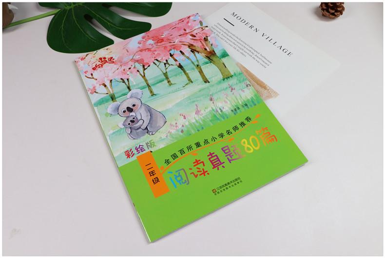 2019新版 响当当阅读真题80篇二年级 通用版含上下册 小学二年级语文阅读理解专项训练书阶梯阅读训练 二年级 课外书阅