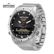 High pressure swimming diving temperature military watch fishing double display Speed watch
