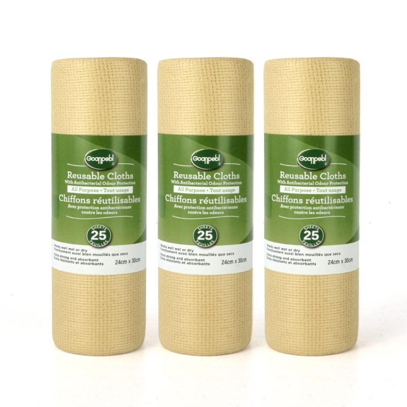 竹纤维洗碗巾懒人一次性不沾油洗碗布抹布吸水不掉毛去油厨房用品
