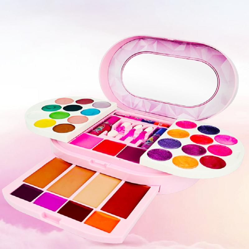 杜莉莎儿童化妆品公主热卖过家家玩具小女孩生日礼物彩化妆套装台