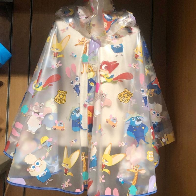 迪士尼疯狂动物城雨衣
