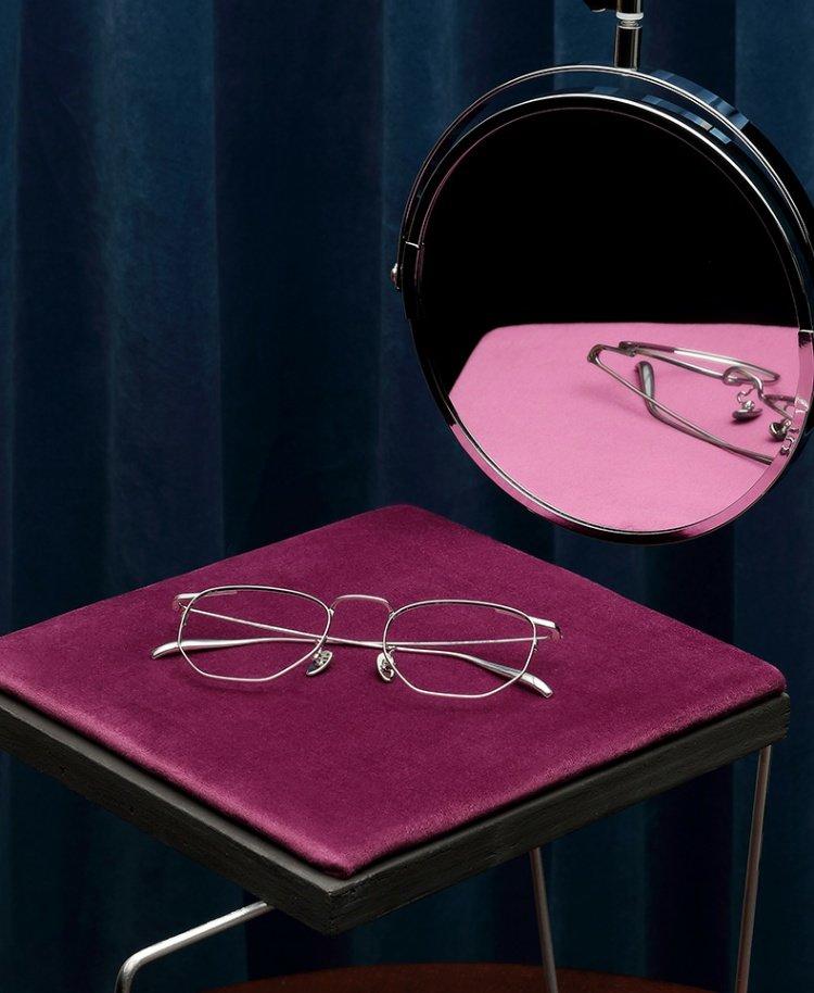 木九十复古不规则眼镜FM1720105近视眼镜框造型时尚眼镜架男女潮商品详情图