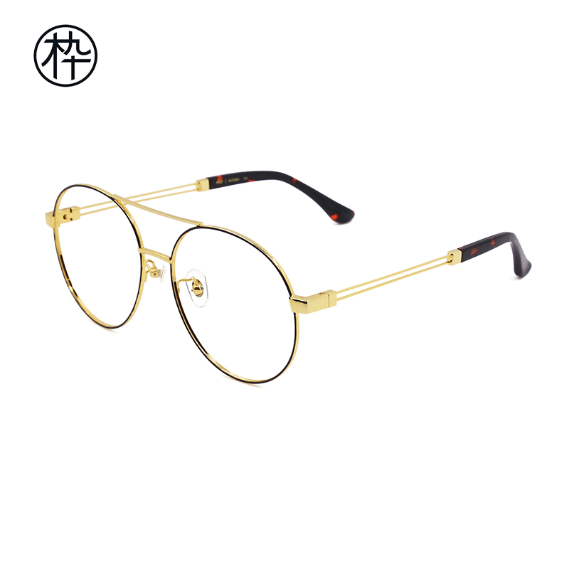c4017f1b69 USD 159.03  MUJOSH wooden ninety glasses frame FM1740057 male and ...