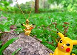 Gold Pendant Female Official Genuine Good-looking Cute Pikachu Pure Gold Pendant Pokémon Series Hard Gold Jewelry 3D Hard Gold