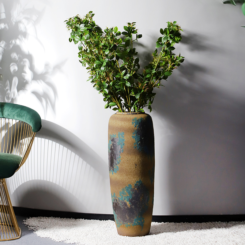 Jingdezhen vases, pottery and porcelain landing place three - piece restoring ancient ways the sitting room of Chinese style household flower arranging decorative arts and crafts