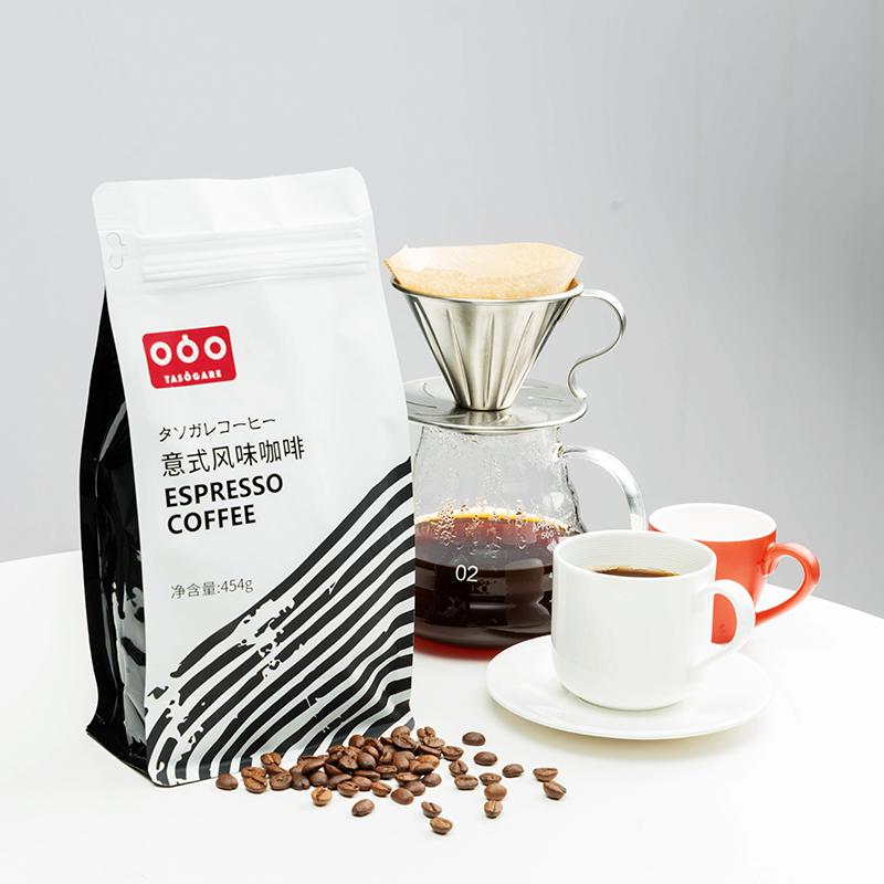 【隅田川】重度烘焙意式咖啡豆454g