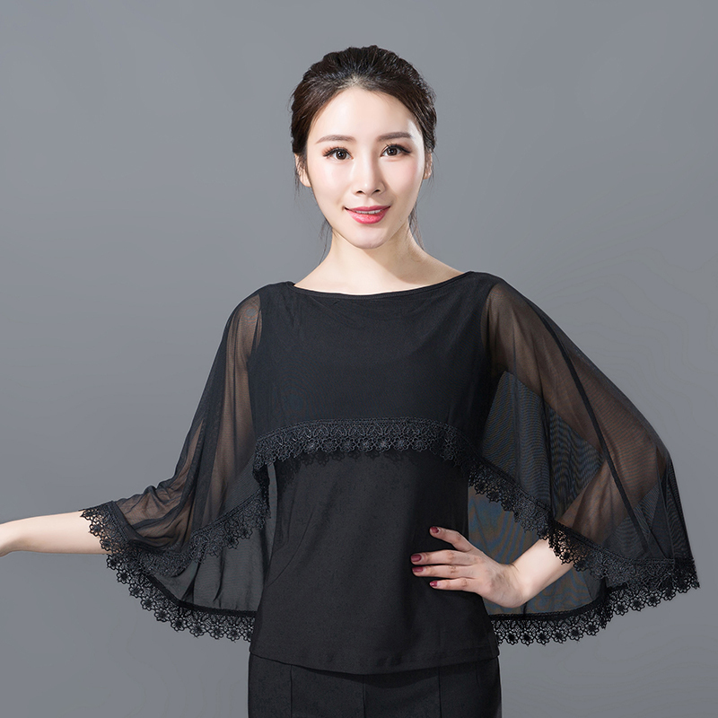 17 Modern Dance Garment Top Slimming Waltz National Standard Social Dance Garment Top